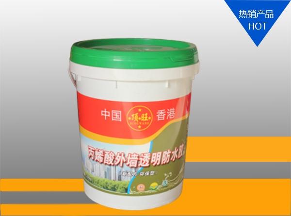 浙江丙烯酸外墙透明防水胶10kg