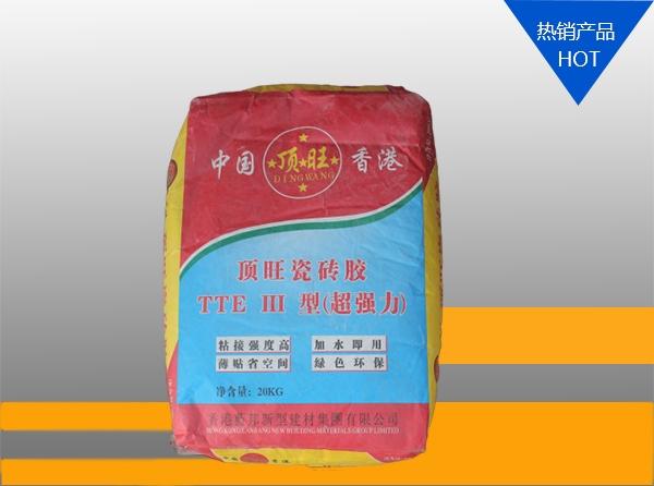 浙江顶旺瓷砖胶 TTE Ⅲ 型(强力胶)20kg