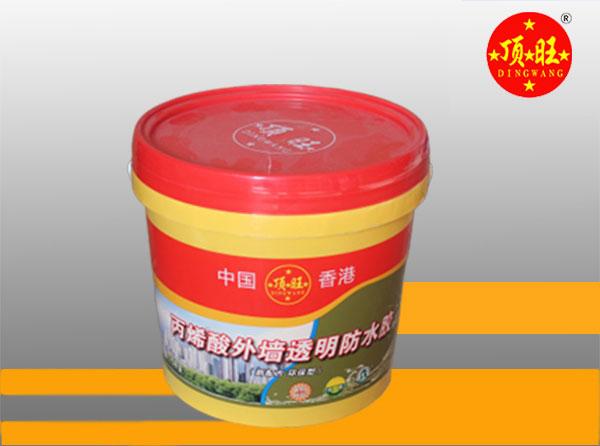 丙烯酸外墙透明防水胶20kg