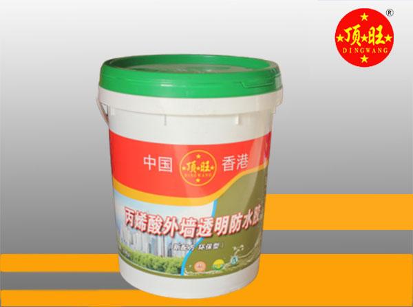 丙烯酸外墙透明防水胶10kg